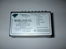 4130-115 ADJUSTABLE POWER SUPPLY & BRIDGE EXCITATION SOURCE OUTPUT 4-15VDC 150MA