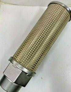 "SMC ANA1-20 Pneumatic Muffler / Air Silencer 2"" BSPT 1Mpa"