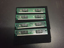 4x 1MB 30-Pin 2-Chip Non Parity 80ns FPM Memory SIMMs 4MB Apple Macintosh