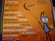 CD NEUF scellé - Francofolies : 20 ans, le bel age  -C75