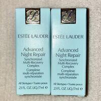 2x Estee Lauder Advanced Night Repair Synchronized Multi-Recovery MINI .23oz 7ml
