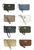 Michael Kors Fulton Large Top Zip Wristlet Paten Leather (Select Color) $128