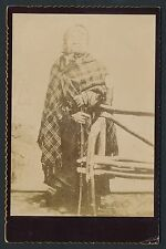 1893 PRINCESS ANGELINE (Native American Chief Seattle) Vintage Cabinet Photo