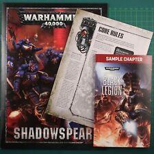 Schattenspeer Kampagnenbooklet Englisch Warhammer 40K 11930