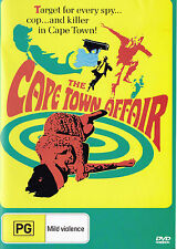 CAPE TOWN AFFAIR Claire Trevor James Brolin Jacqueline Bisset DVD Region Free