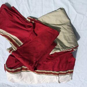 "4 pc King Sized Duvet Cover Set Woolrich Cotton 88"" x 98"" Pillowcases"