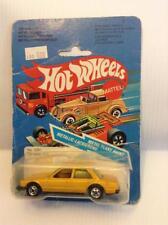 Hot Wheels Vintage Peugot 505 Metal Flake Yellow Gold Blackwall MIB #3281