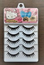 Hello Kitty Eyelash Pretty Eyes 5 set Long Volume Black color New