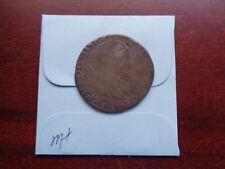 1565 Netherlands Spanish 1/5 Ecu silver coin
