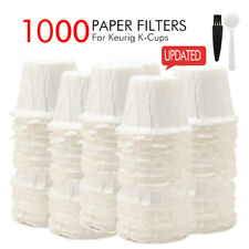 i Cafilas 100-1000 Disposable K-Cup Paper Filters For Keurig K-Cup Coffee Pods
