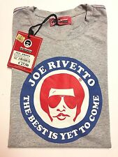 """NWT Joe Rivetto """"the Best Is Yet To Come"""" T Shirt RARE Sz Euro XXL USA LARGE FIT"""