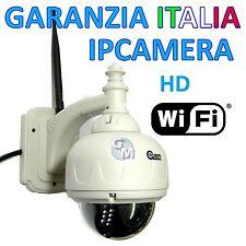 IP CAMERA WIFI ESTERNO WIRELESS  LED IR INFRAROSSI DOME HD ALTA DEFINIZIONE