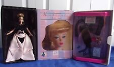 Official Barbie Collector Club Kit & Doll-1st 1996-Binder Pin Lot-2 Excellent