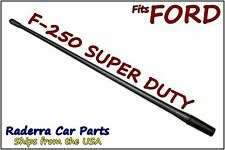 "FITS: 99-17 Ford F-250 Super Duty- 13"" SHORT Custom Flexible Rubber Antenna Mast"