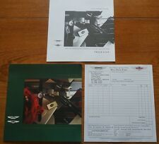1992 Aston Martin Lagonda Loisirs Merchandise brochure & Ultra Rare Formulaire de commande