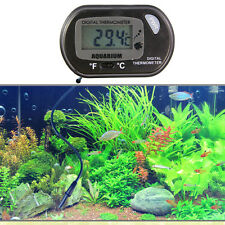 Digital LCD Fish Tank Aquarium Marine Water Thermometer Temperature Regulator