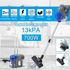 More details for 3in1 700w handheld vacuum cleaner upright stick lightweight bagless hoover vac