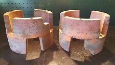 Vintage Gravely Tractor Lawn Mower Model L Cast Iron Wheel Tire Spacers