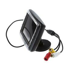 3.5 Inch TFT LCD Screen Monitor Reverse Camera Car Rear View Backup D