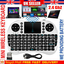 2.4G Mini Wireless Keyboard Fly Air Touch Pad Mouse For Smart TV Box PC Notebook
