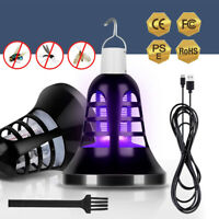 Electric LED  Mosquito Killer Zapper Lamp Outdoor USB 5V Camping Tent Light