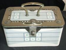 Art Nouveau WMF Jugendstil Secessionist Ceramic & Metal biscuit barrel box