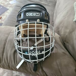 CCM BHT2 Helmet With Jofa 278 Goalie Cage