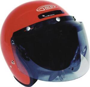 GMAX 3 SNAP FLIP-UP SHIELD (SMOKE) G999016