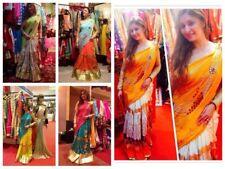 Designer Label Ghagra saree Indian Pakistani Bollywood