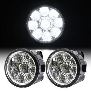 2x LED Fog Light Halogen Bulb for Nissan Cube Murano Juke Versa Rogue 2009-2015