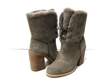 UGG JERENE WOMEN ANKEL BOOTS SUEDE MOUSE US 6 /UK 4.5 /EU 37