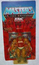 Masters of the Universe vintage ZODAC original 8-Back card Mattel He-Man 1981