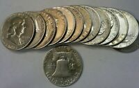 **BETTER DATE COIN FOR SET BUILDERS**1949 S FRANKLIN SILVER HALF DOLLAR #1111