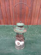 Vintage Coleman Lantern Green + Chrome D 41 1941 Made in Canada Sunshine of Nigh