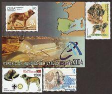 Spanish Mastiff * Int'l Dog Postage Stamp Art Collection *Unique Gift Idea*