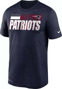 New England Patriots Men's Nike Legend Performance Tee - NWT - FREE SHIPPING!
