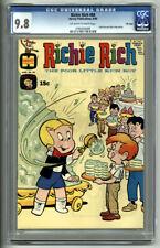 RICHIE RICH #84 CGC NM/MT 9.8 1969 HARVEY COMICS FILE COPY