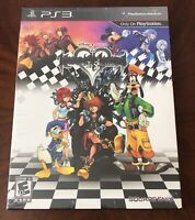Limited Edition Kingdom Hearts HD 1.5 ReMIX PS3 New Sealed Game + Artbook