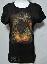 Great Root Galaxy NWOT Black Fitted Womens XL TeeFury Guardians Groot Universe