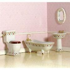 Luxury Victorian Bathroom Suite 12th Scale by Dolls House Emporium 4442