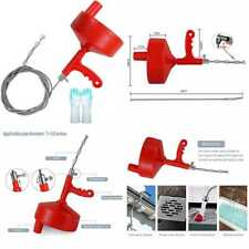 Plumbing Snake 35 Ft Drum Auger Drain Clog Remover Pipe Unblocker Cleaner Sewer