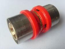 Pressfitting Muffe für Alu Verbundrohr 26 x 26 mm DVGW