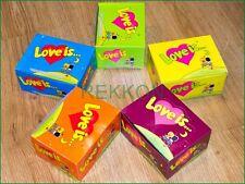 Bubble Gum LOVE IS Assorted Любовь это Ассорти 5 boxes 500 pcs All tastes