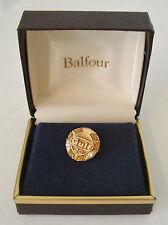 Gulf Oil Co 20 yr Service Pin 10K Gold Balfour New in Box Gas NIB