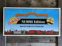 RARE Vintage 1995 NUMMI MONOPOLY DELUXE ANNIVERSARY EDITION BOARD GAME