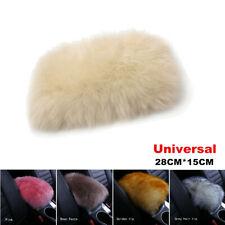 Winter Warm Fur Plush Car Centre Armrest Box Cover Soft Cushion Pad for All Car