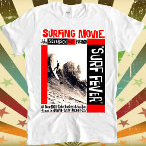 Surf Fever Surfing Movie 60s Cool Retro Vintage Hipster Unisex T Shirt 1888