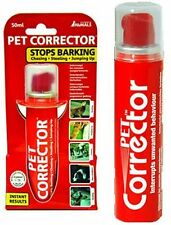 Pet corrector spray stops indésirables chien chat comportement formation barking 50ml