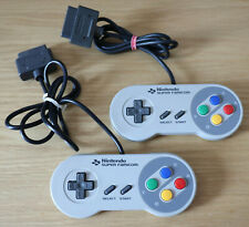 Lot x2 Manette officielle d'origine pour Super Nintendo famicom (Jap) fonctionne