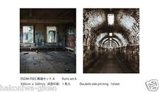 [HAKONIWAGIKEN DM-F005 350x302mm]Diorama Sheet DM Ruins set A backwall HG 1sheet